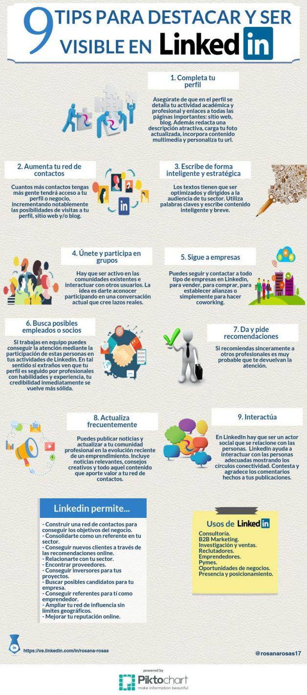 infografia-estrategias-linkedin