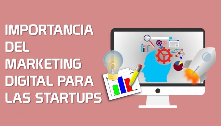 Portada Importancia del marketing digital para las startups