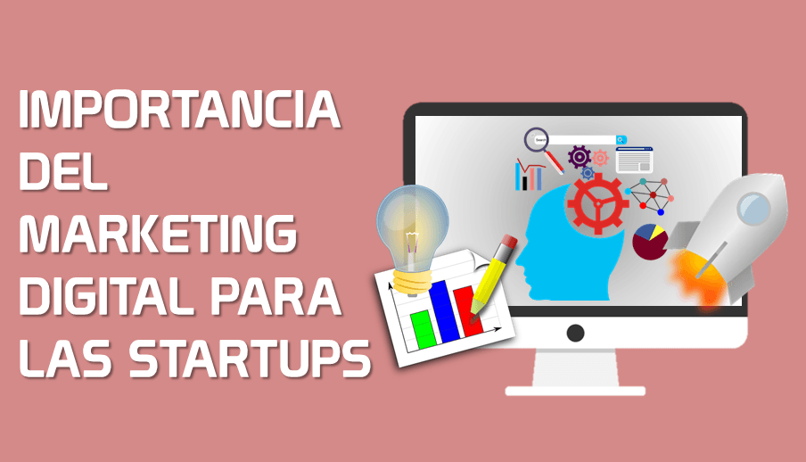 Importancia del Marketing Digital para las Startups y Emprendimientos [Infografía]