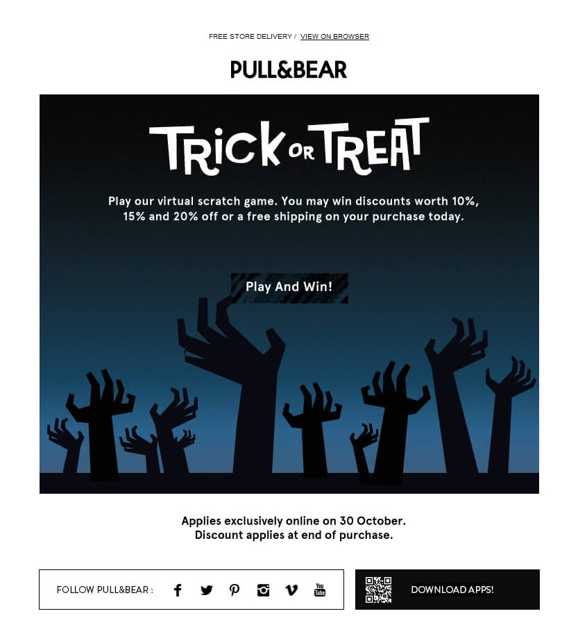 Idea de newsletter halloween