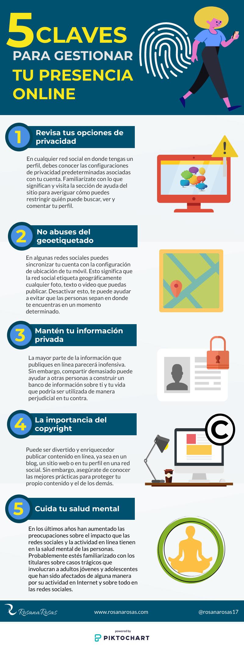 5 Claves pars Gestionar tu Presencia Online