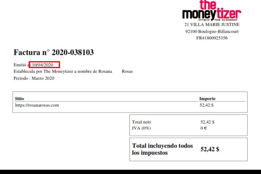 factura the moneytizer