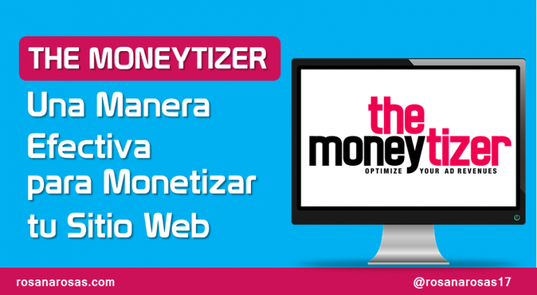 Computadora con logo de the Moneytizer