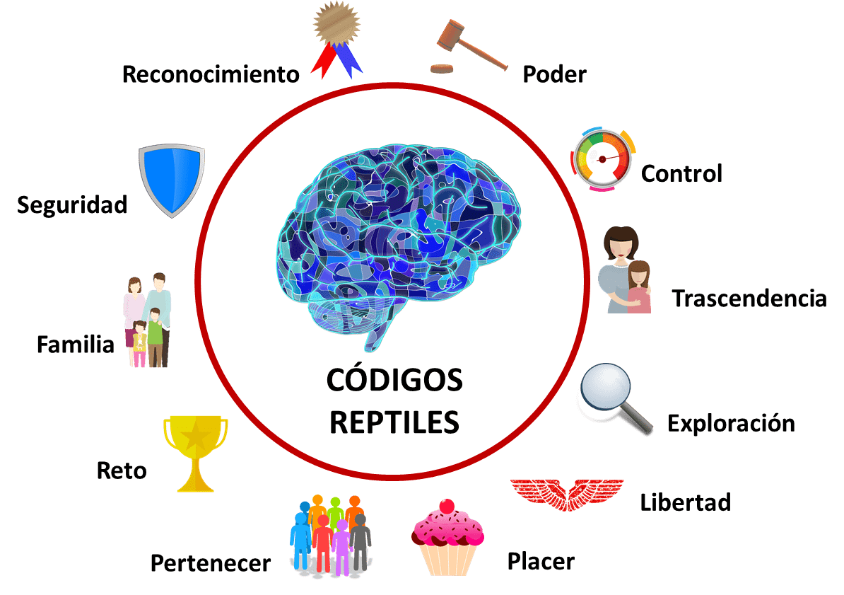 códigos reptiles