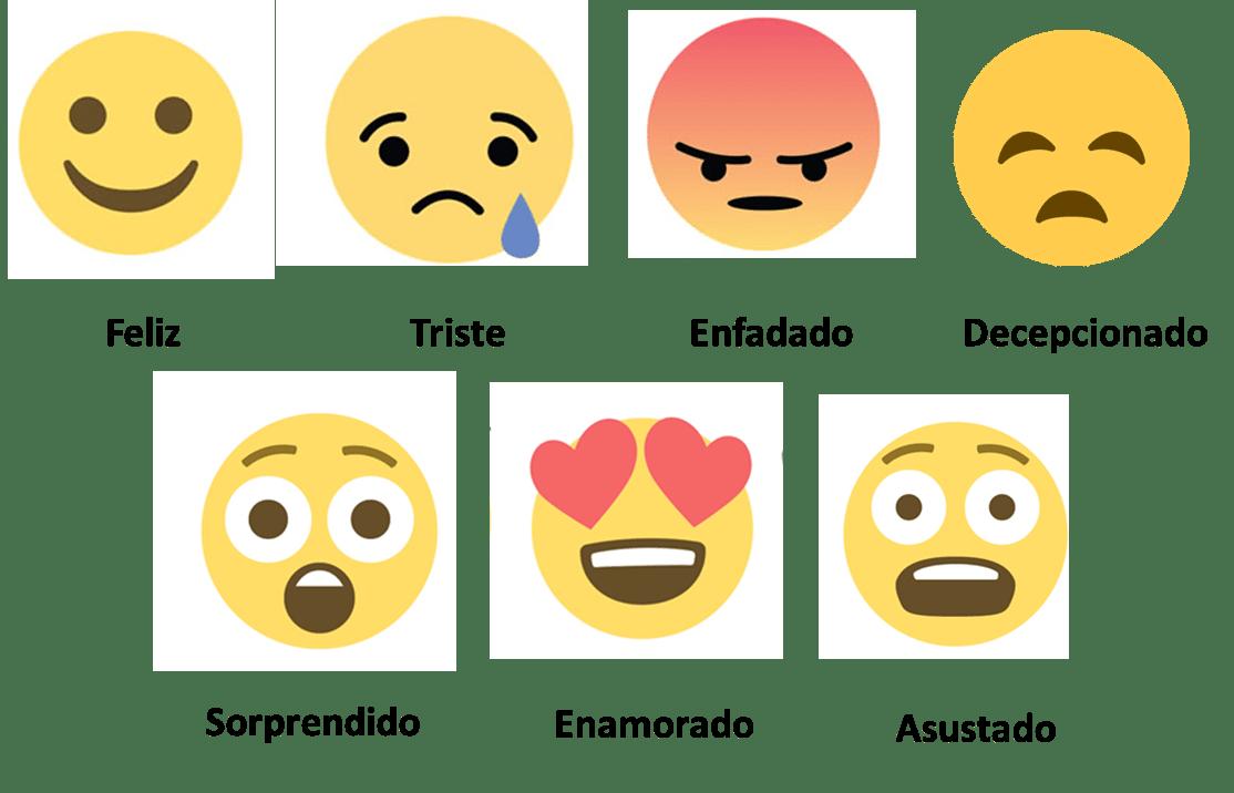 sentimientos emojis