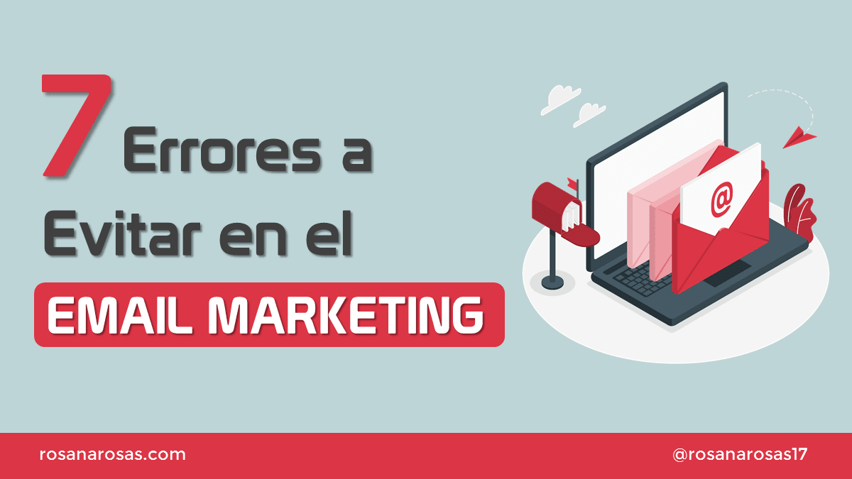 portada errores email marketing
